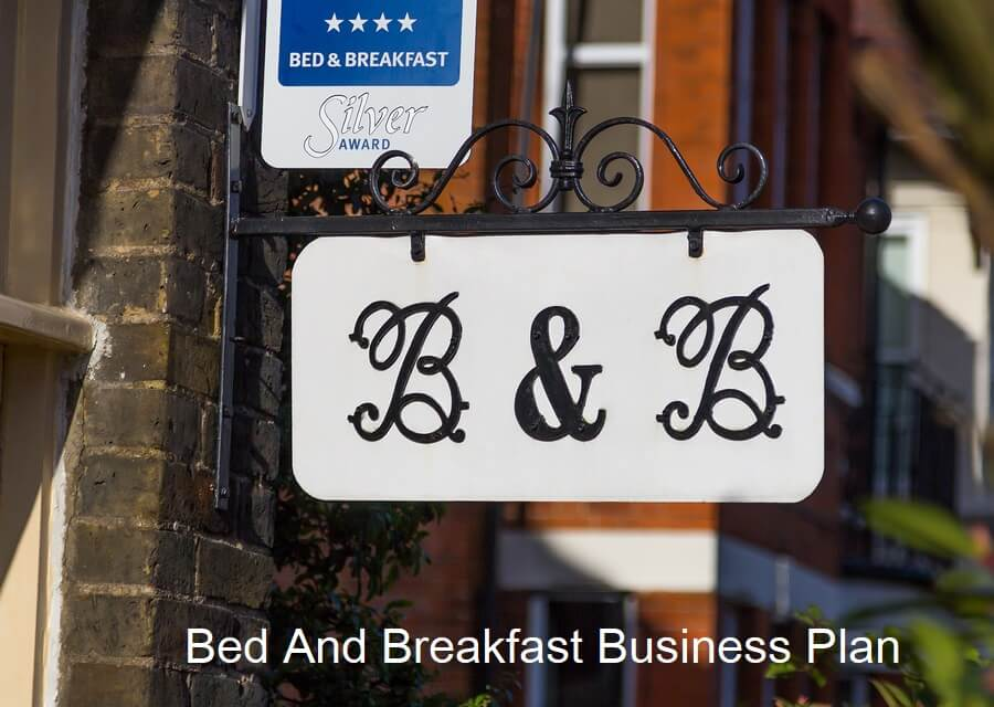 Bed And Breakfast Business Plan Example