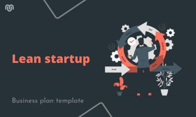 Business plan template for your lean startup [2021 Updated]