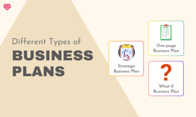 The Different Types of Business Plans