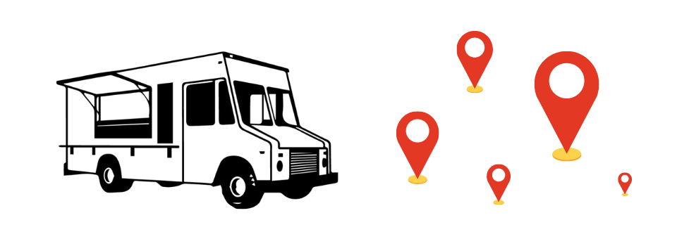 Food truck select areas and locations