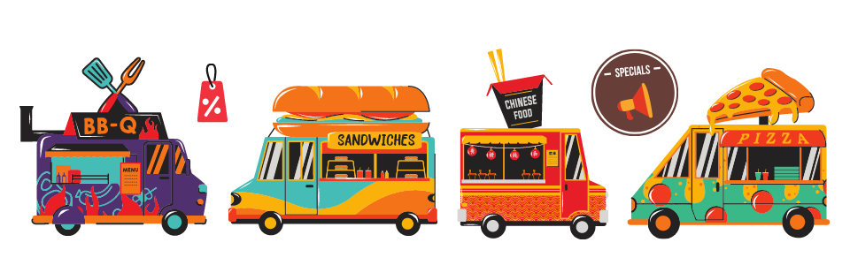 Food truck style and sales pitch