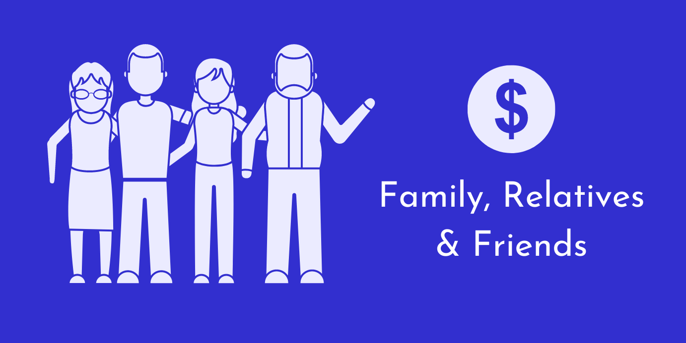Love money from family friends relatives startup