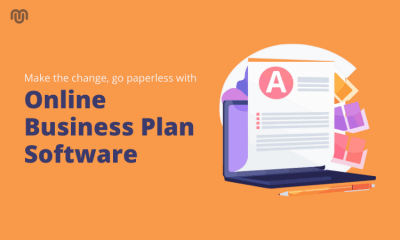 Make the change, go paperless with online business plan software