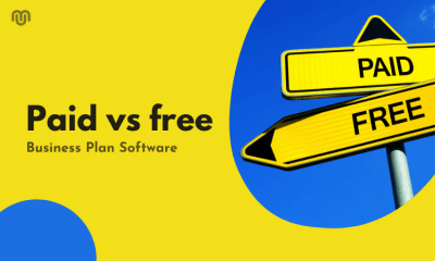 Paid vs free Business Plan Software [2021 Updated]?