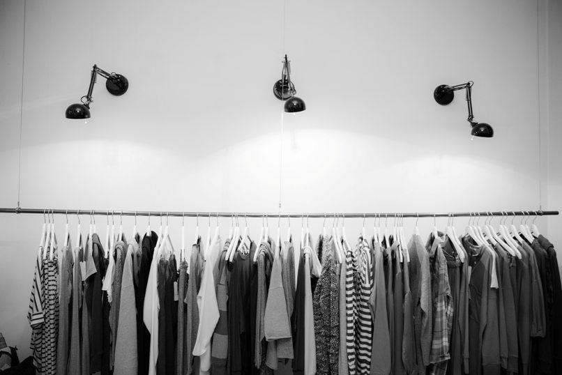 clothing shop products
