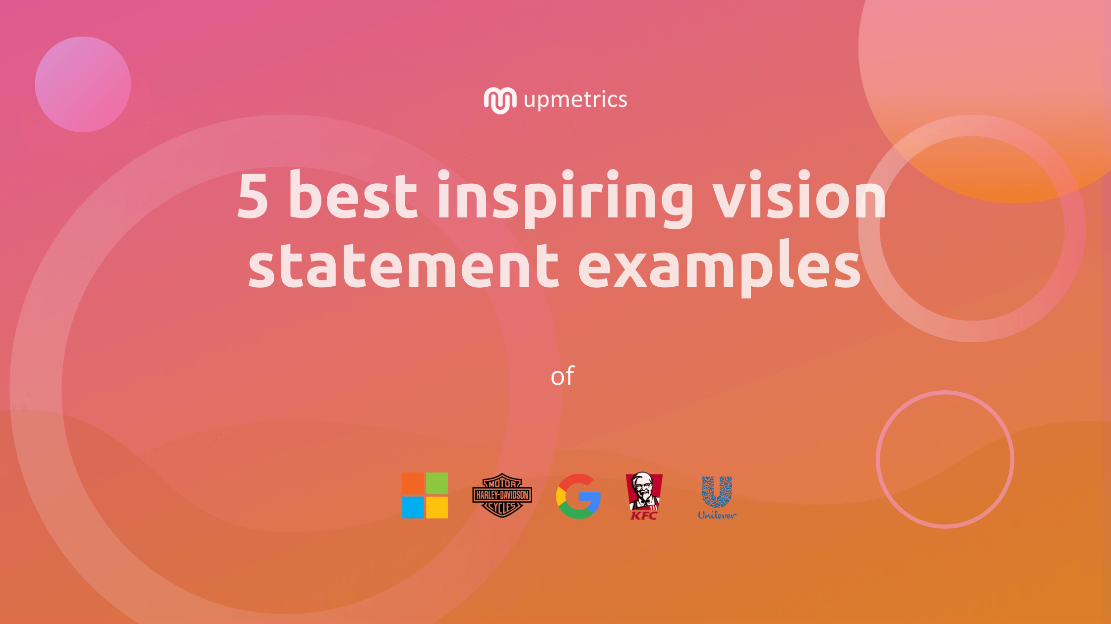 5 Best Vision Statement Examples For Your Business Plan