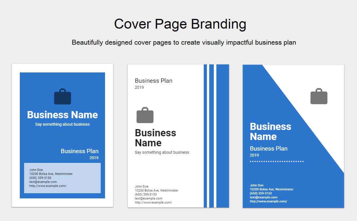 Plan Cover Designs